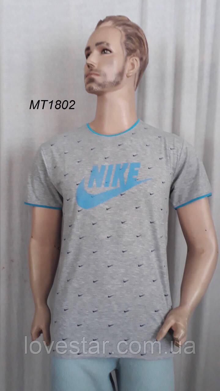 Мужская футболка хлопок 2XL-5XL