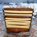 Раскладушка на ламелях с регулируемым подголовником «Нова», фото 3