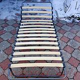 Раскладушка на ламелях с регулируемым подголовником «Нова», фото 4
