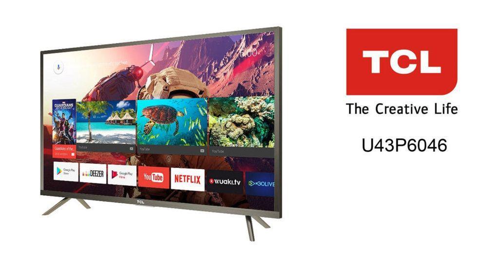 Телевизора TCL U43P6046