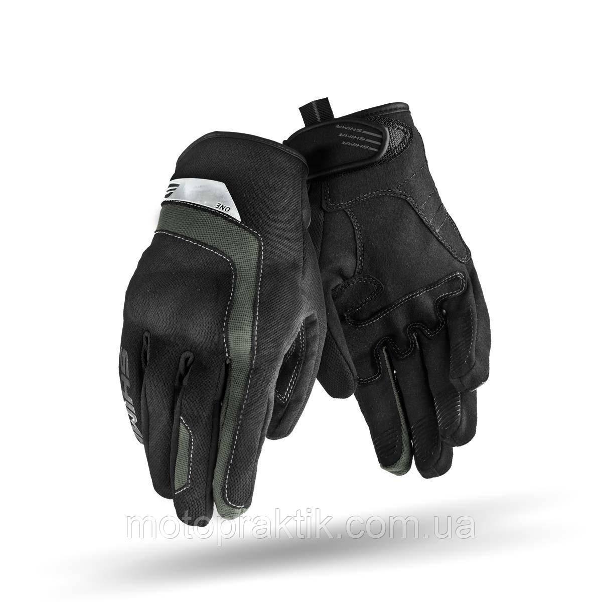 SHIMA ONE Gloves Black, Мотоперчатки летние