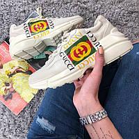 Женские кроссовки Gucci Retro Gara. Живое фото (Реплика ААА+) 12adc2148f5e8