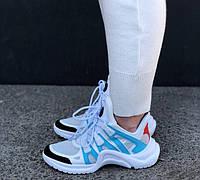 Кроссовки Louis Vuitton Archlight sneakers Azure. Живое фото. Топ реплика ААА+