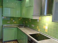 Кухня крашенная фисташковая, фото 1