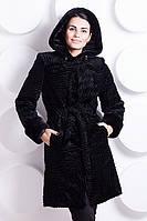Женская шуба Симфония черный каракуль, шубы 2014