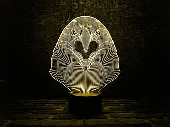 "Сменная пластина для 3D ламп ""Орел"" 3DTOYSLAMP"