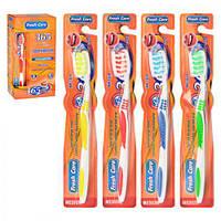 "Зубная щетка ""Fresh care"" MH-1038 разные цвета, пластик, 12 штук, зубные щетки, уход за полостью рта, щетки"