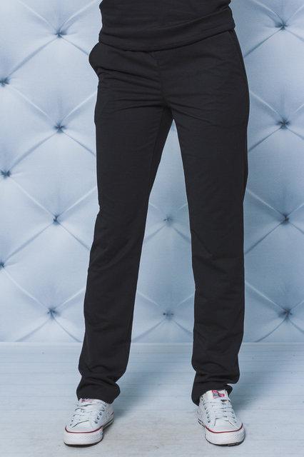 Спортивные штаны  черные батал
