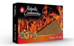 Разжигатели огня Czechowice в картонной упаковке (64 шт) (Польша)