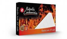 Разжигатели огня Czechowice в картонной упаковке белые (32 шт) (Польша)