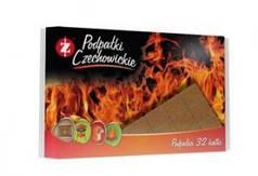 Разжигатели огня Czechowice в полиэтиленовой упаковке (32 шт) (Польша)