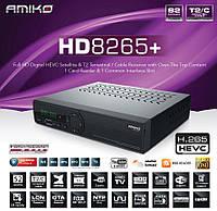 Ресивер комбинированый Amiko HD8265+ Combo DVB-S2/T2/C HEVC H.265