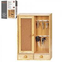 Ключница деревянная Комод от TM Besser 43х33 см