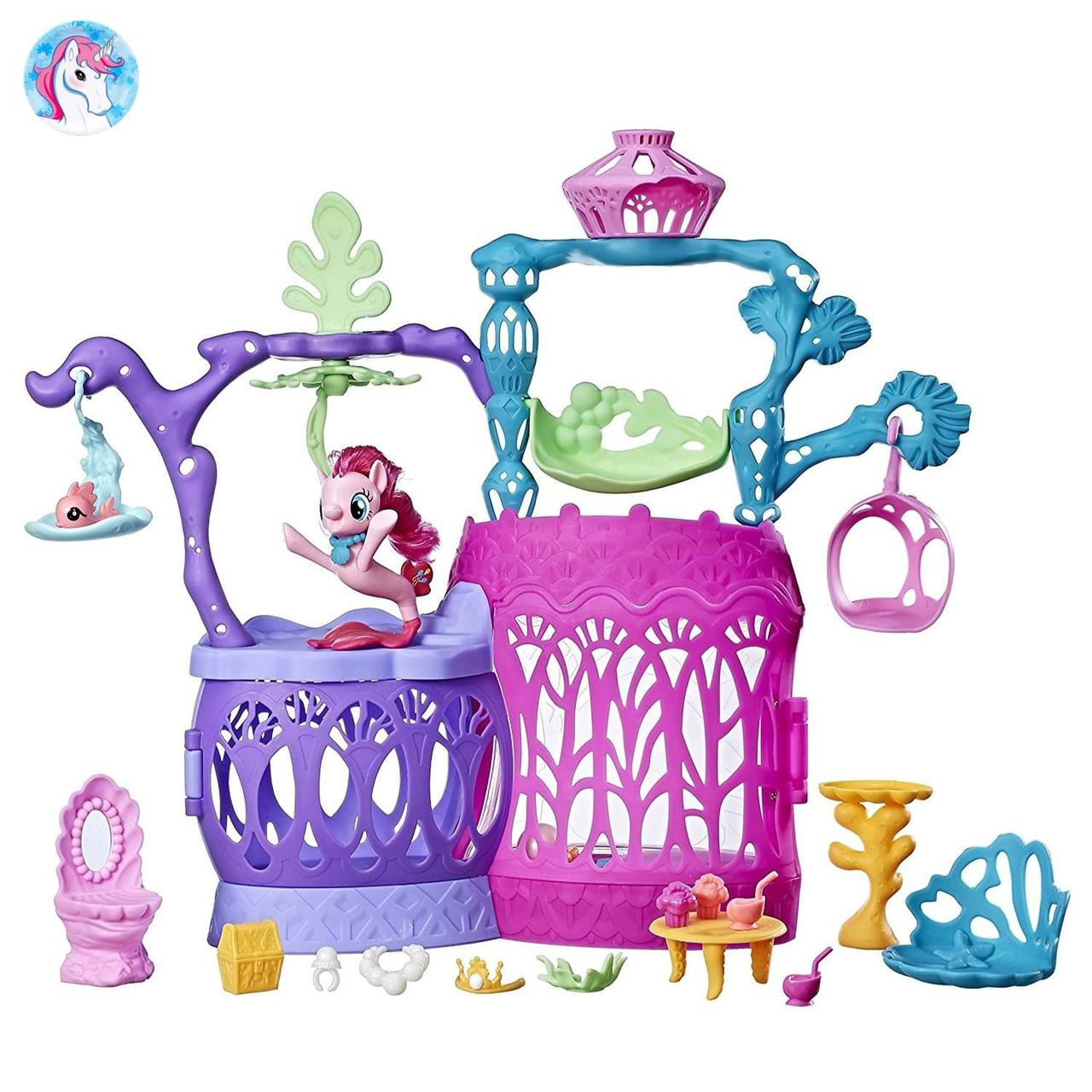 Игровой набор My Little pony замок Мерцание с Пинки Пай - Детские игрушки  интернет-магазин c50fdd8ea42
