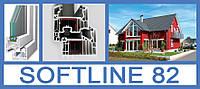 Балконный блок Veka Softline 82 1300\1400мм со створкой