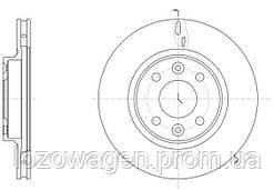Передний (вентилируемый) тормозной диск на Logan 2 REMSA 61535.10