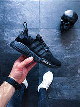 "Мужские кроссовки adidas NMD_R1 ""Triple Black"", фото 3"