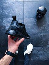 "Мужские кроссовки adidas NMD_R1 ""Triple Black"", фото 2"