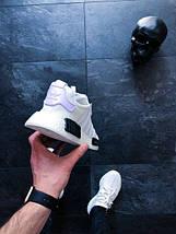 Мужские кроссовки Adidas NMD R1 Oreo White/Core Black, фото 3