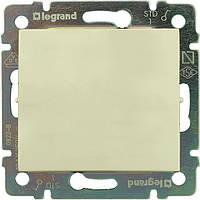 Проходной выключатель Legrand Valena одноклавишный 774306, переключатель на два направления слоновая кость