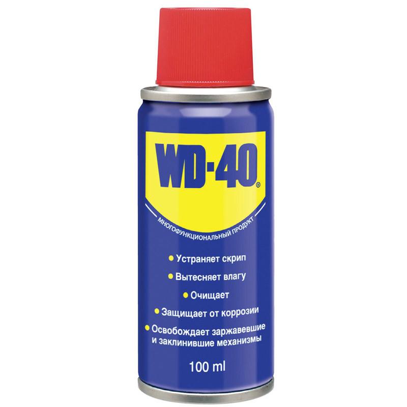 Смазка универсальная аэрозоль WD-40 100мл