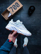 Мужские кроссовки Adidas Yeezy 700 Boost White Gum, фото 3