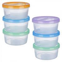 """Набор контейнеров """"Ягодка"""" PT83108, пластиковые, 3шт/наб, 500мл, набор судков для еды"""