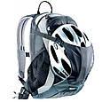 Компактный велосипедный рюкзак 18 л. DEUTER CROSS BIKE 18, 32074 3333 голубой, фото 3