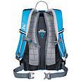 Компактный велосипедный рюкзак 18 л. DEUTER CROSS BIKE 18, 32074 3333 голубой, фото 2