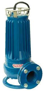 Погружной насос для сточных вод SPERONI SQ 50-4 (Италия), фото 2