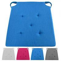 "Подушка на стул ""Классик"" J01425 ткань, 40*40см, разные цвета, подушки, декоративная подушка, домашний текстиль, подушки"