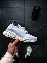 Мужские кроссовки Adidas NMD R1 PK (Ftwr White / Ftwr White / Ftwr White), фото 3