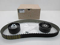 Комплект ремень + 2 ролика ГРМ на Рено Трафик 03-> 2.5dCi — Renault (Оригинал) - 7701477380, фото 1