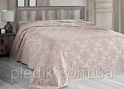 Махровая простынь 200х220 Arya Sitare розовый