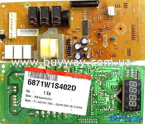Панель управления для микроволновки LG MC-7644 (6871W1S402D), фото 2
