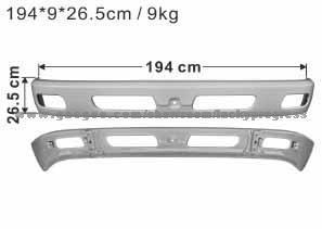 Бампер передний MITSUBISHI CANTER FUSO 839/859 (MK547539/MK403836) JAPACO