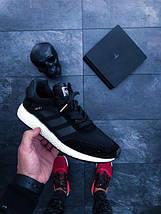 Мужские кроссовки adidas Iniki Runner Black White ( Мужские / Женские ), фото 2