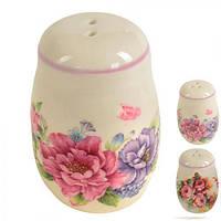 Солонка керамическая R21575 керамика, 7 см, из 2 шт, для соли, набор для специй, посуда, столовая посуда, спецовники