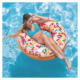Круг надувной Пончик Intex 56263