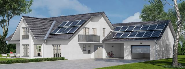 Увеличение вводной мощности для частного дома при строительстве солнечной электростанции екотеч екотек ecoteh