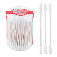 """Ухочистки белые """"Гусеница"""" J00836 в коробке 150шт, 12уп / пак, палочки ватные, ватные диски и палочки, ватные палочки для ушей, ушные палочки"""
