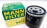 Фильтр масляный W67/2 (пр-во MANN, Германия)