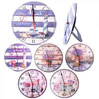 """Часы настенные Stenson """"Микс"""" MС1776 разные цвета, 25*25 см, керамика, Керамические часы, Часы для дома"""