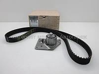 Комплект ремень + ролик ГРМ на Рено Трафик 01-> 1.9dCi — Renault (Оригинал) - 7701477048, фото 1