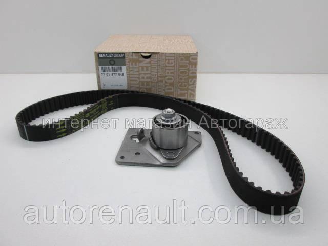 Комплект ремень + ролик ГРМ на Рено Трафик 01-> 1.9dCi — Renault (Оригинал) - 7701477048 - Автогараж в Львовской области