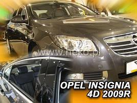 Дефлекторы окон (ветровики)  OPEL INSIGNIA  2009-2017 (HEKO)