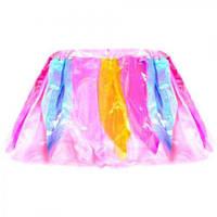 Юбка - цветок R00385 разноцветная, карнавальный костюм, маски, карнавал, праздник, карнавальные аксессуары