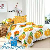 Семейное постельное белье из сатина ЦИТРУС (2 пододеяльника)