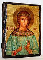 """Икона под старину """"Вера, святая мученица"""""""