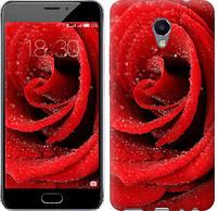 """Чехол на Meizu M5 Note Красная роза """"529c-447-5948"""""""